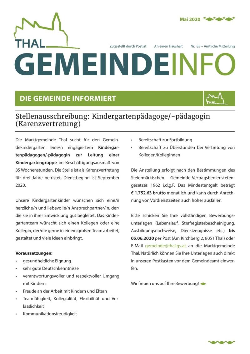 Gemeinde Info Nr. 85-page-001