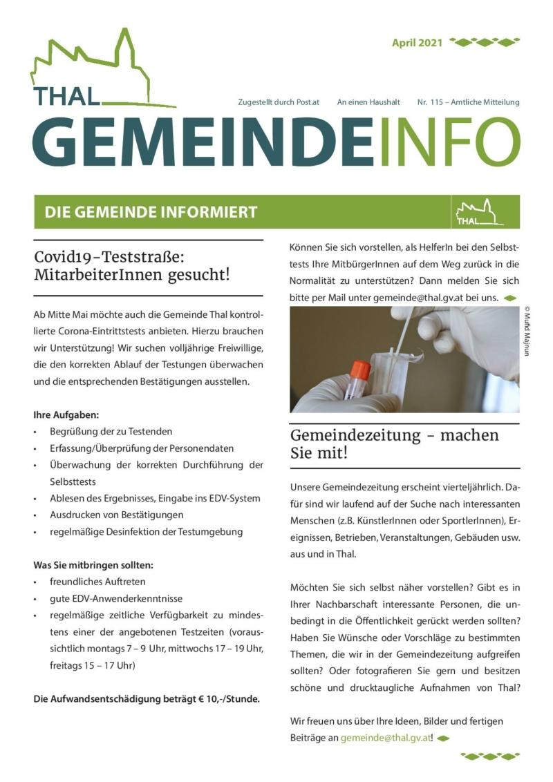 Gemeinde Info Nr. 115-page-001